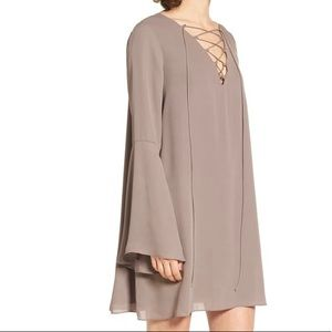 *IN BLUSH PINK* Soprano Lace Up Dress